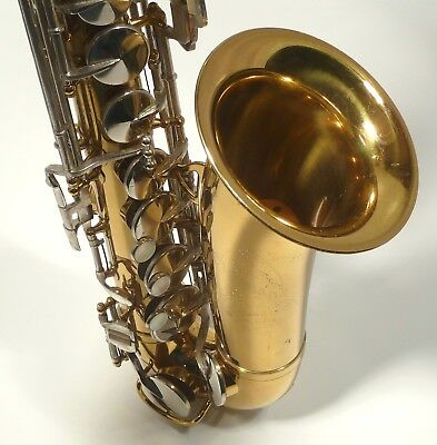 Cleveland Alto Saxophone, 1963, A+++, Mfg by HN White, Maker of King, Demo Video
