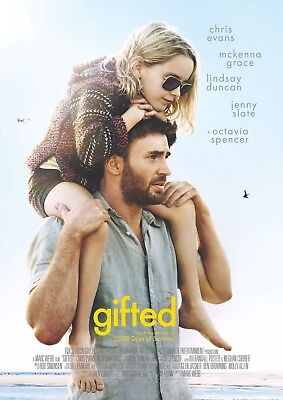GIFTED Digital Code Copy HD Sent Quickly! Chris Evans