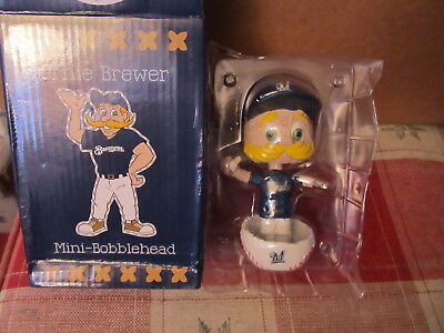 Milwaukee Brewers Bernie Brewer 2018 Pitch n Stitch Bobblehead NEW IN BOX