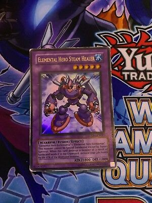 Verzamelingen Losse kaarten Yu-Gi-Oh Elemental Hero Steam Healer Ultra Rare DP1-EN013 1st Edition USED COND.