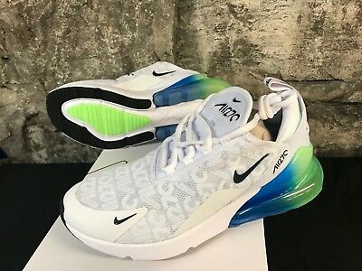 Nike Air Max 270 SE AQ9164-100 White Lime Blast Men's Running Lifestyle New 8-13