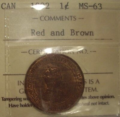 Canada Edward VII 1902 Large Cent - ICCS MS-63