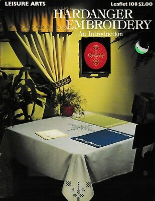Hardanger Embroidery An Introduction | Leisure Arts 108