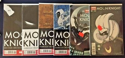 Moon Knight Lot 2014 Marvel comics 6 issue lot comic book Issues 1,3,4,5,6,7