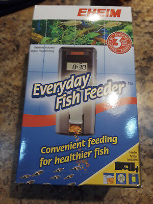 NEW!! EHEIM Everyday Fish Feeder Programmable Automatic Food Dispenser