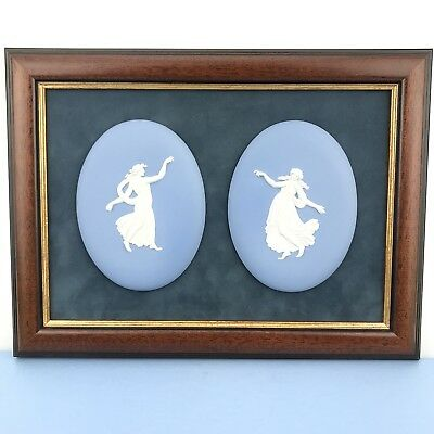 Rare Wedgwood Blue Jasperware Plaque