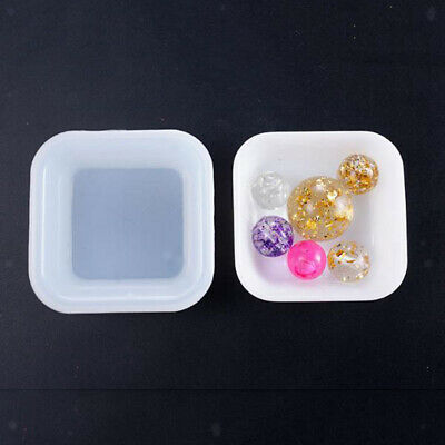 Cube Resin Silicone Mold Box Mould for Epoxy Resin,Crafts,Candle Holder DIY