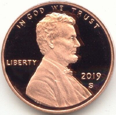 2019-S Lincoln Memorial Clad Cent Proof