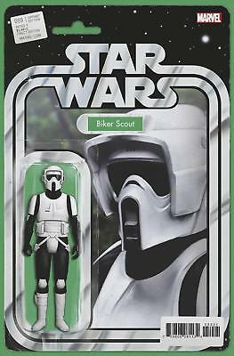 Star Wars #59 Action Figure Variant Biker Scout A Comic Book Not A Figure