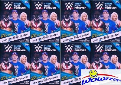 (20) 2017 Topps WWE Wrestling Then, Now, Forever Factory Sealed Blaster Boxes