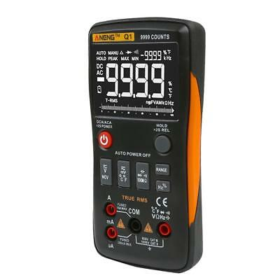 ANENG Q1 True-RMS Digital Multimeter Button 9999 Counts with Analog Bar Graph TS