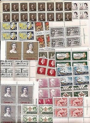 vintage MINT MNH UNUSED FULL GUM CANADA Canadian postage stamps lot C40F MNH