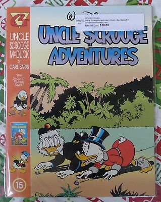 Disney's Uncle Scrooge Adventures In Color Lot Carl Barks Issues 15-29