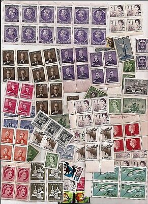 vintage MINT MNH UNUSED FULL GUM CANADA Canadian postage stamps lot C50F MNH