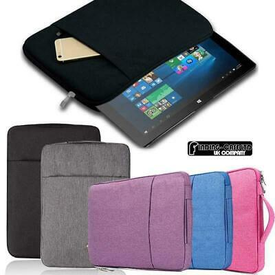 "Carrying Laptop Sleeve Pouch Case Bag For Various 10.1"" 12"" Linx Tablet"