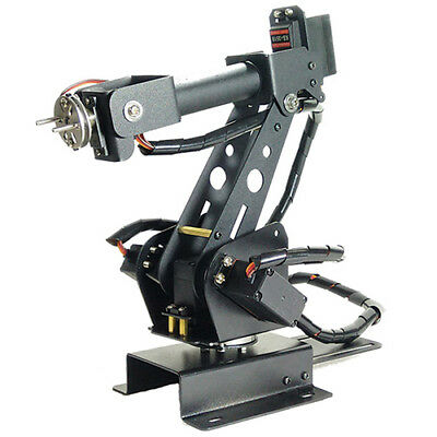 Upgraded DIY 6DOF Stainless Steel 6 Axis Rotating Mechanical Robot Arm Kit New