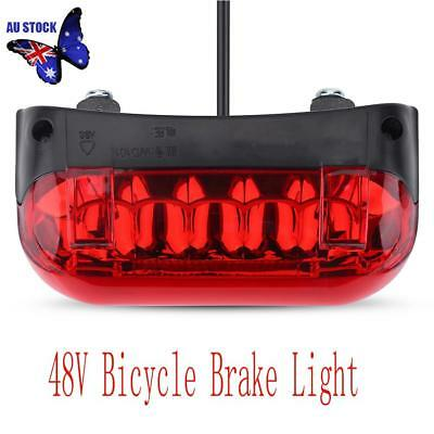 48V LED Tail light E-bike Turn Signal Rear Lamp Electric Bicycle Ebike Safety AU
