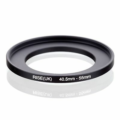 40.5-55 40.5mm to 55mm 40.5mm- 55mm Matel Step Up Ring Filter Camera Adapter