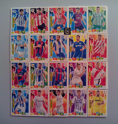 Set Completo 360 Cards Básicas Adrenalyn Xl Liga Santander 2018 2019