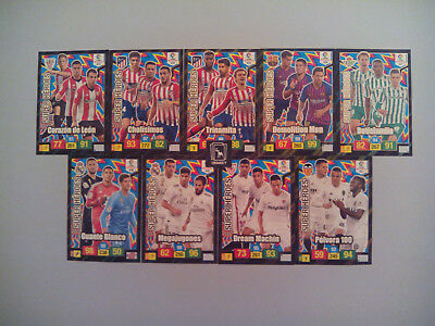 Set Completo 9 Cards Super Heroes Adrenalyn Xl Liga Santander 2018 2019