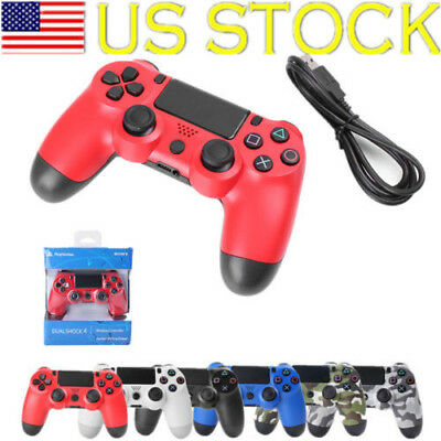 1/2pcs For PS4-PlayStation4 Dualshock 4 Joystick 6Ax Gamepad Wireless Controller