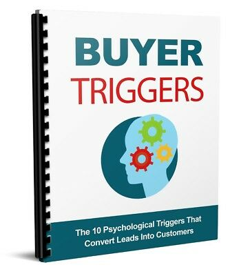 Buyer Triggers - Convert Your Leads into Customers ebook