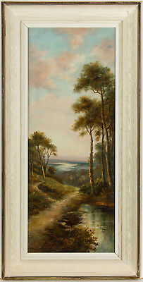 Hugh Church - Signed & Framed Early 20th Century Oil, Ambient Landscape Scene