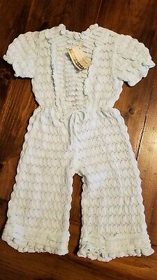 Vintage Imported Rare Friemanit~NWT!!~ one pc/romper/jumpsuit ● size 2T Girls●