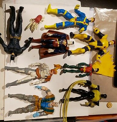 Marvel And DC Universe Action Figure Lot