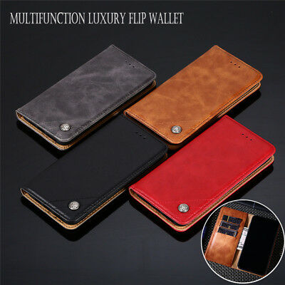 For Samsung Galaxy J3 J5 J7 2017/2016  Business Flip Wallet Leather Cover Case