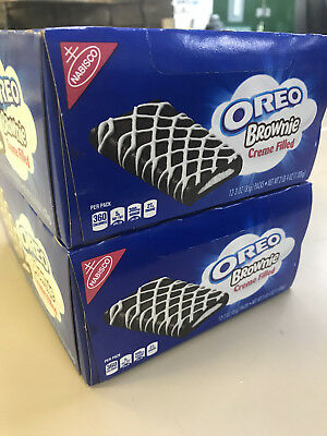 24 X Nabisco Oreo Creme Filled Brownies  Brownie Bars - American Import
