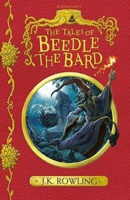 The Tales of Beedle the Bard Story Book By JK Rowling Paperback Ages 6+ New Gift