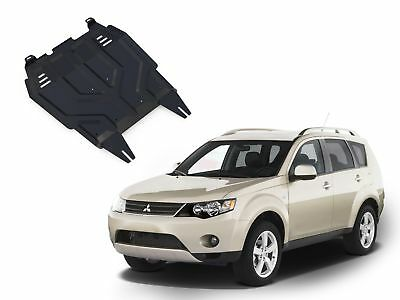 Mitsubishi Outlander 2007-2012 Engine + Gearbox Guard Skid Plate Undertray