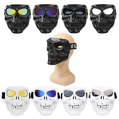 Off-Road Skull Motocross Racing ATV Dirt Bike Motorcycle Goggles Eyewear Lens