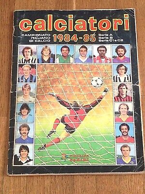 Album figurine Panini CALCIATORI 1984 85 COMPLETE football sticker espana 82 wm