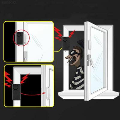 11A9 Home Office Security Detector Burglar Theft Alarm Wireless Remote Control