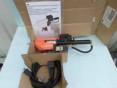 3M Scotch-Weld Hot Melt Applicator PG II  With Cartridge Feed Refurb