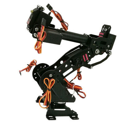 7 DOF Mechanical Robot Arm Clamp Claw Manipulator Kit for Arduino Robotic