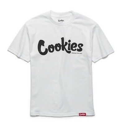 Brand New Authentic Berner Cookies SF Thin Mint White/Black S/S Tee
