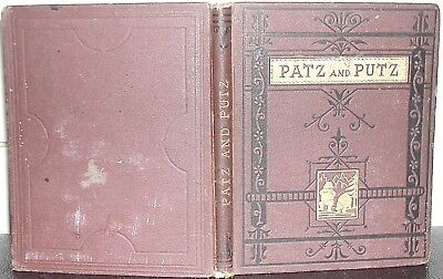 PATZ & PUTZ Lives of Two Bears VICTORIAN SPCK Children's Story from the German
