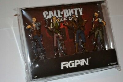 * R2B3 CALL OF DUTY BLACK OPS 4 Limited Edition * 4 FIGPIN Character Set * NEW