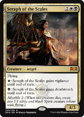 Magic: the Gathering MTG RAVNICA ALLEGIANCE SERAPH OF THE SCALES MYTHIC