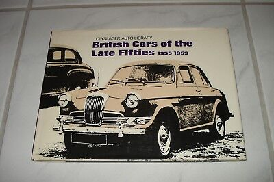 British Cars of the Late Fifties AC Dellow  Daimler HRG Kieft Reliant Buch Book