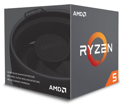 AMD Ryzen 5 2600 Six-Core 3.4GHz Socket AM4 19MB Cache - Boxed