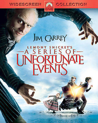 Lemony Snickets A Series of Unfortunate Events (DVD, Widescreen) - **DISC ONLY**