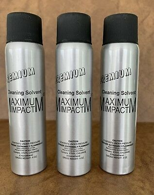 Maximum Impact Cleaning Solvent Spray (3 PACK SPECIAL )  ( FREE SHIPPING )