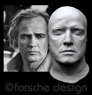 Marlon Brando Life Mask Don Vito Corleone The Godfather Apocalypse Now Jor-El