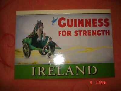 AK Guinness FOR STRENGTH Werbung Ireland John Hinde Karte ungelaufen Nr. 2/854