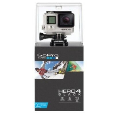 Gopro Hero 4 Black Edition Action And Sport Camera Waterproof (All included)
