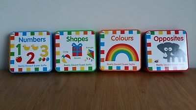 Unwanted Gift – 4 Supersoft Baby Books. Rrp £23.96 For 1 Year Onwards